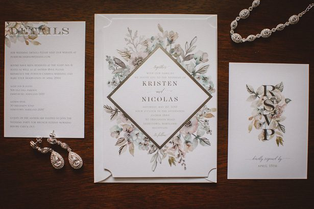 Wedding Invitation suite- Dani Leigh Photography