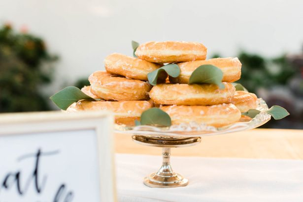 Wedding donuts - M.Hutchison Photography