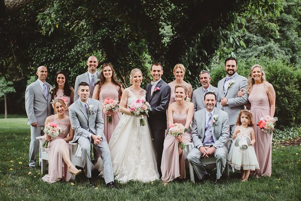 Wedding party photo- Dani Leigh Photography