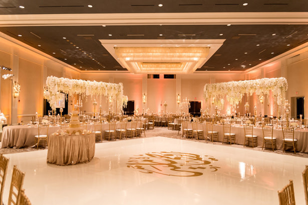 Luxury Wedding Event: White And Gold Opulent Wedding With Syrian Traditions