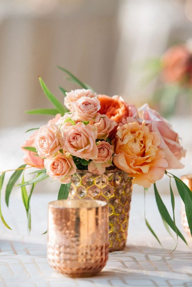 Blush Wedding Flowers - Myrtle And Marjoram Photography