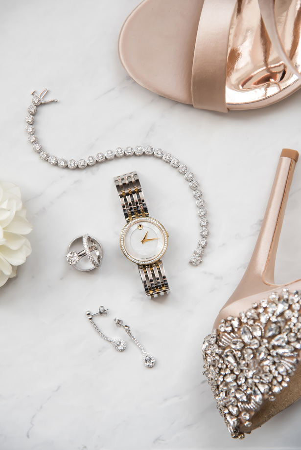 Bridal Accessories - Movado Kay Jewelers - Photography: Gerber Scarpelli Weddings