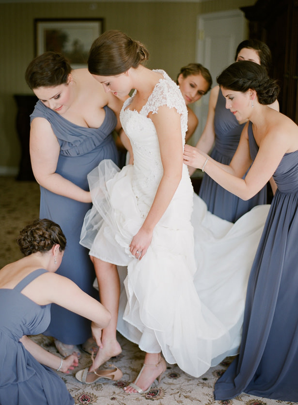 Bride getting ready photo - Almond Leaf Studios