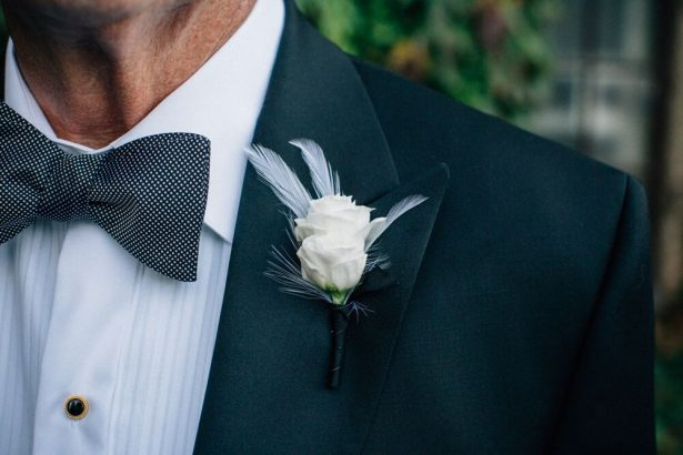 Classic Grooms Boutineer - Myrtle And Marjoram Photography