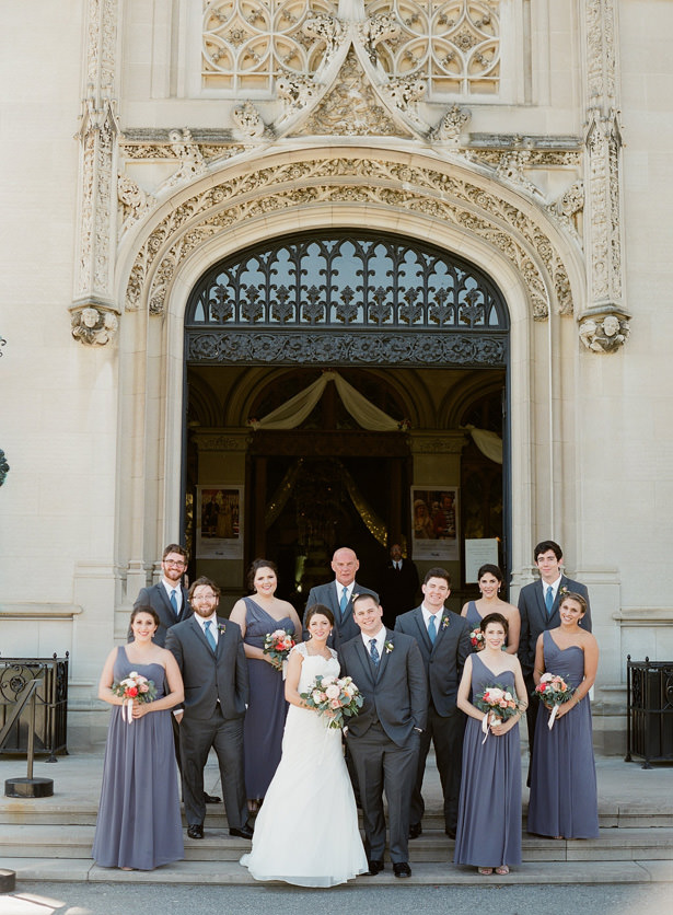 Classic Wedding Party Photo - Almond Leaf Studios