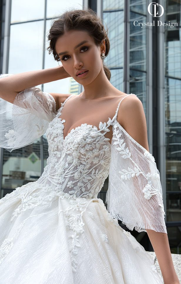Crystal Designs Wedding Dresses 2019 - Paris Collection