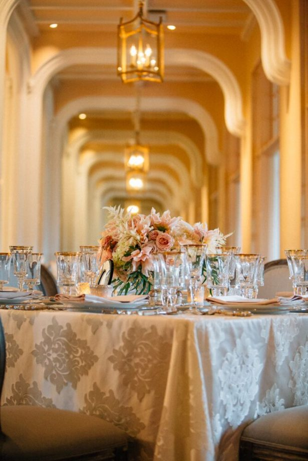 Elegant Gold Wedding Table Decor - Myrtle And Marjoram Photography