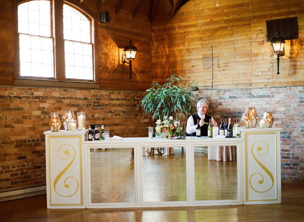Elegant Wedding Bar - Almond Leaf Studios