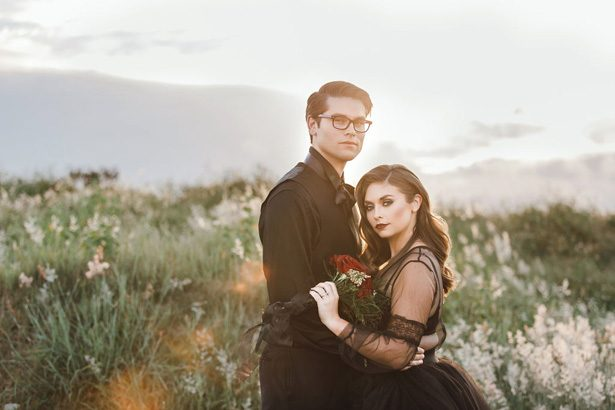 Gothic Romance,  a Halloween Wedding Editorial