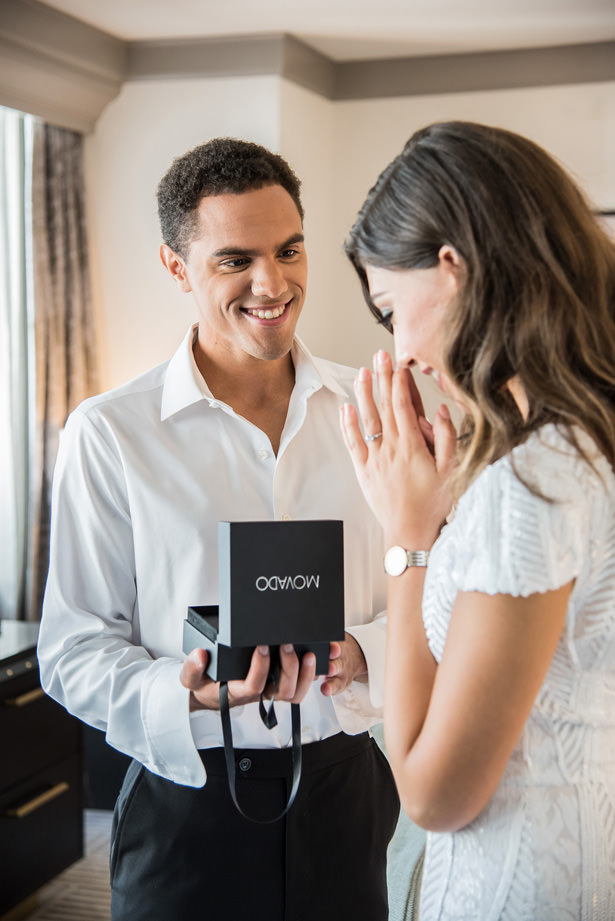 Groom Gift by Movado Kay Jewelers - Photography: Gerber Scarpelli Weddings