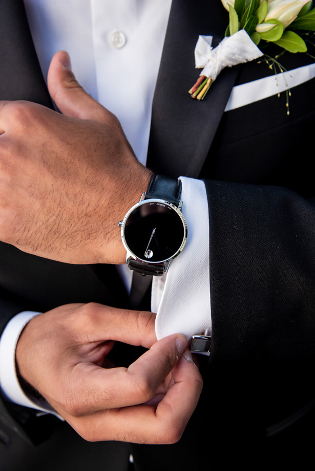 Groom and groomsmen accessories by Movado and Kay Jewelers - Photography: Gerber Scarpelli Weddings