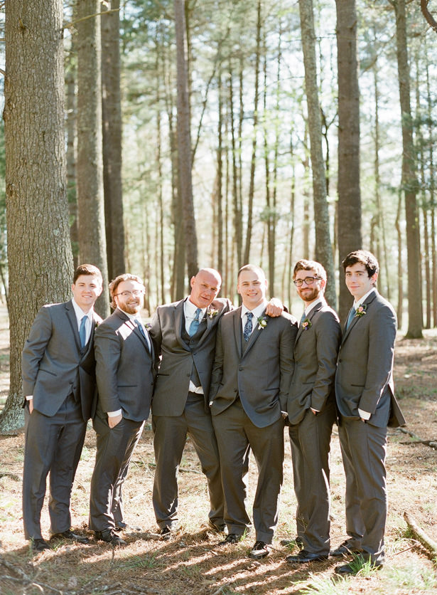 Groomsmen Matching Suits - Almond Leaf Studios