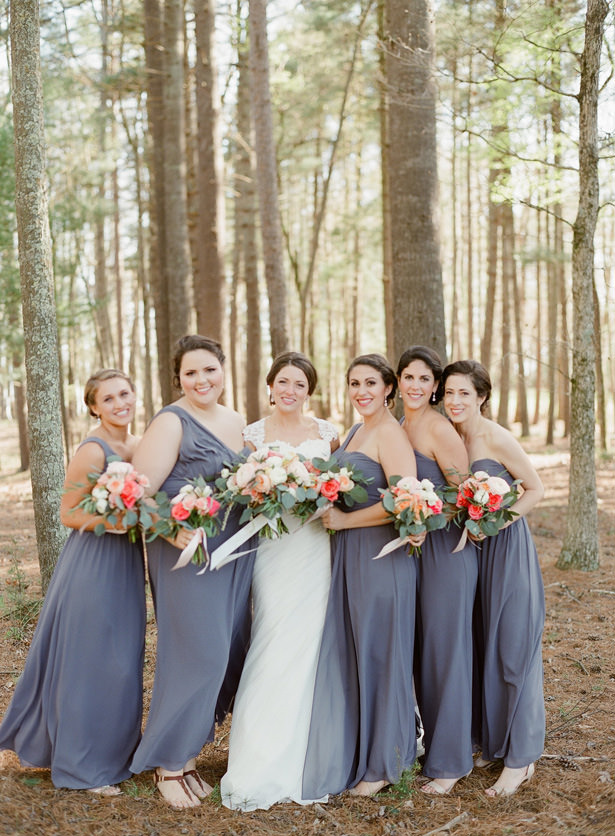 Lavender Bridal Party - Almond Leaf Studios
