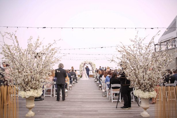 Outdoor luxury wedding ceremony - Photography: Adam Opris