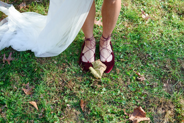 Berry Wedding Shoes - Marina Claire and Company
