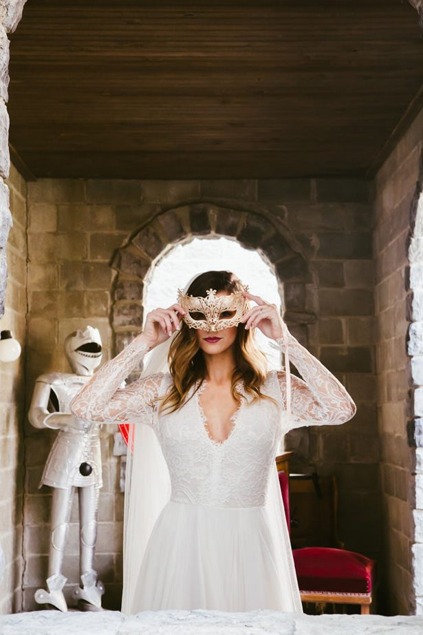 Fall Castle Wedding Inspiration