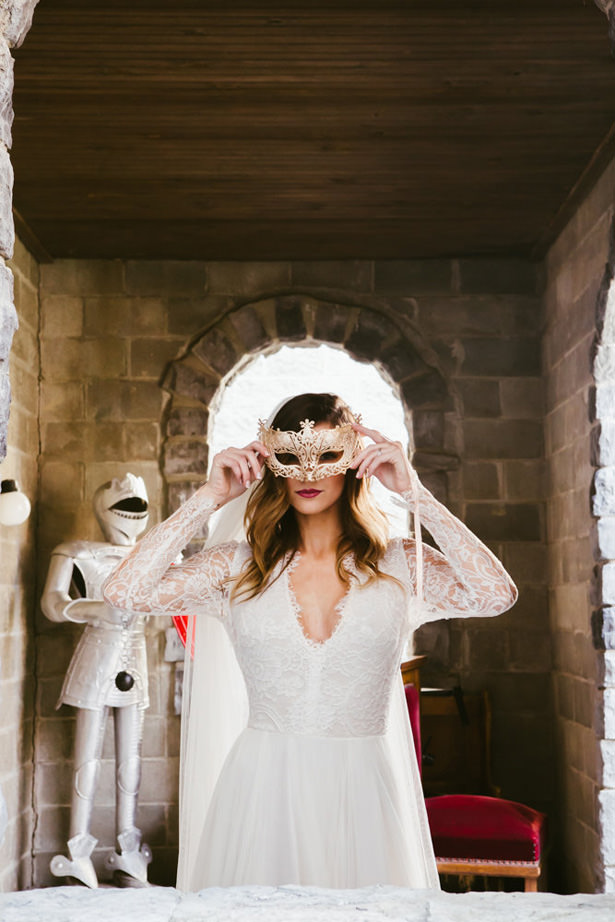 Fall Castle Wedding Inspiration - Marina Claire and Company