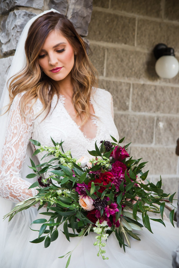 Berry Wild Wedding Bouquet - Marina Claire and Company