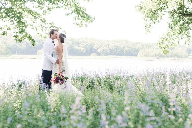 Romantic Lakeside Wedding - George and Claudia Photography