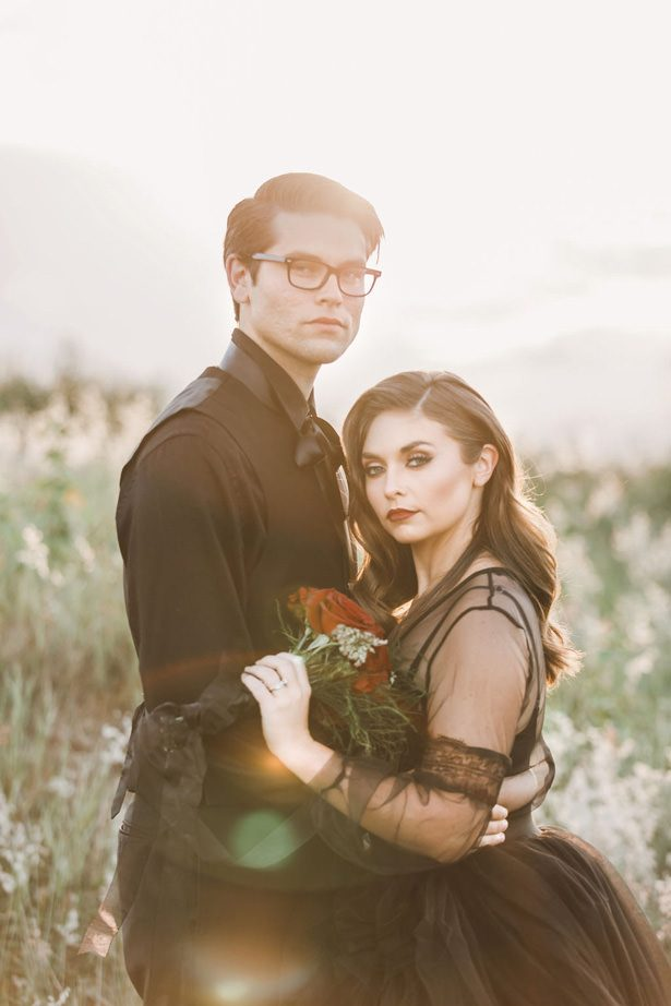 Gothic Romance – Halloween Wedding Inspiration