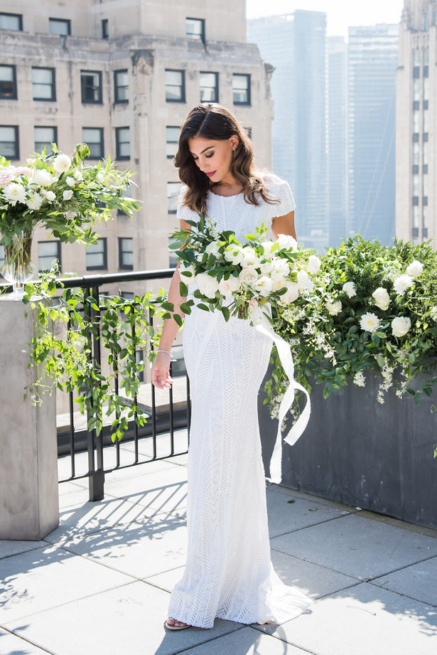Rooftop Wedding - Photography: Gerber Scarpelli Weddings