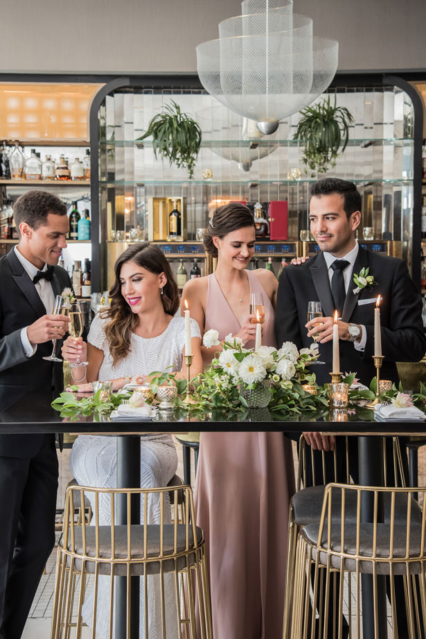 Sophisticated Elopement Inspiration Wedding - Photography: Gerber Scarpelli Weddings
