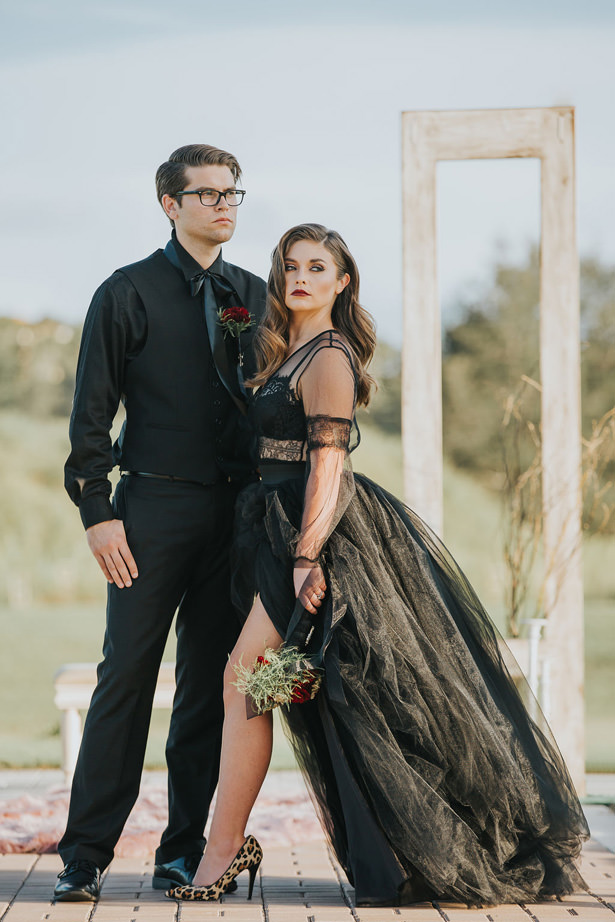 Sultry and Dark Romantic wedding photo- Daylin Lavoy Photogaphy