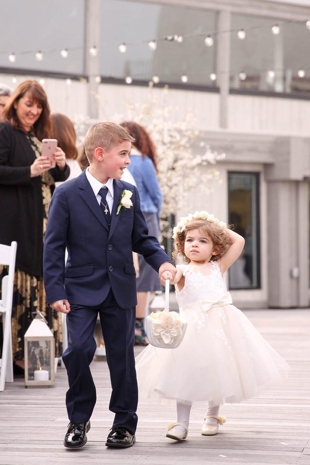 Wedding flower girl and ring bearer - Photography: Adam Opris