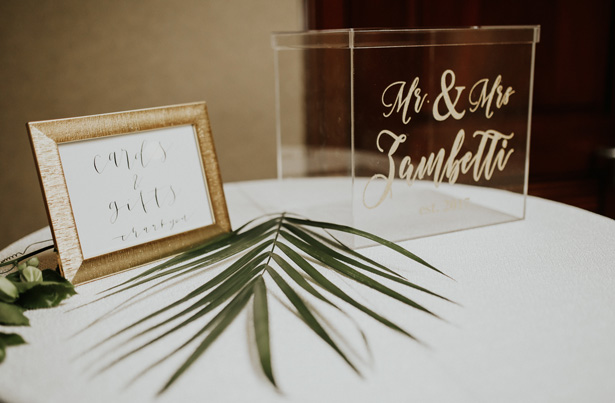 Acrylic Wedding Box - Amy Lynn Photography