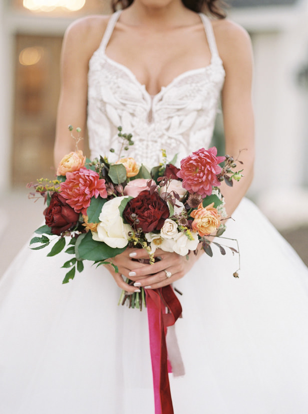 Amber Wild Wedding Bouquet - Rachel Elaine Photo