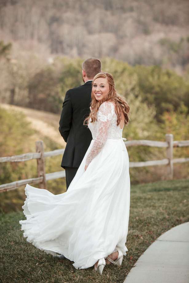 Beautiful Winter Wedding - Kathy Beaver Photography