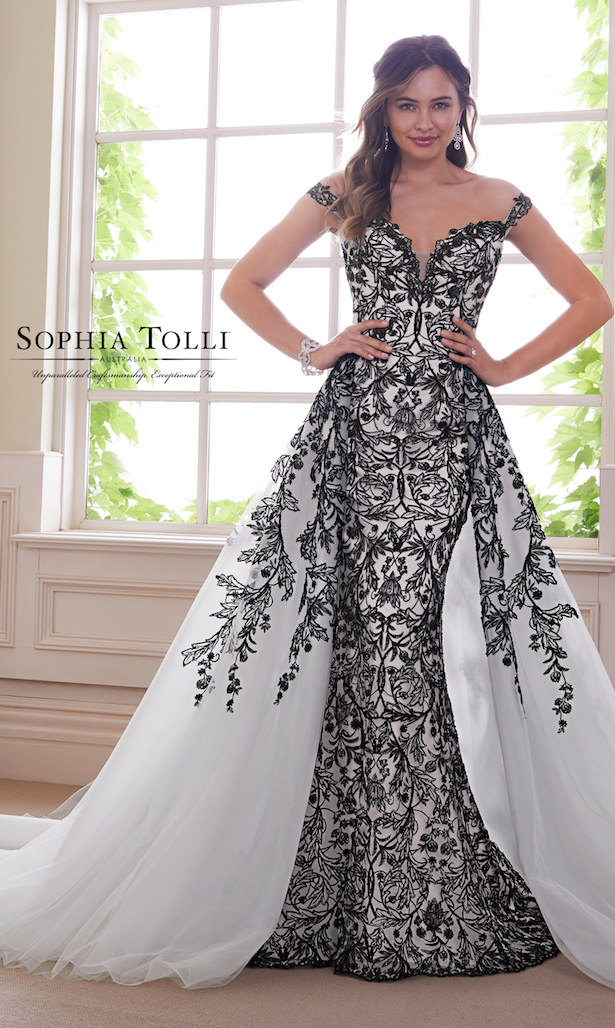 Black Wedding Dress Sophia Tolli 2019