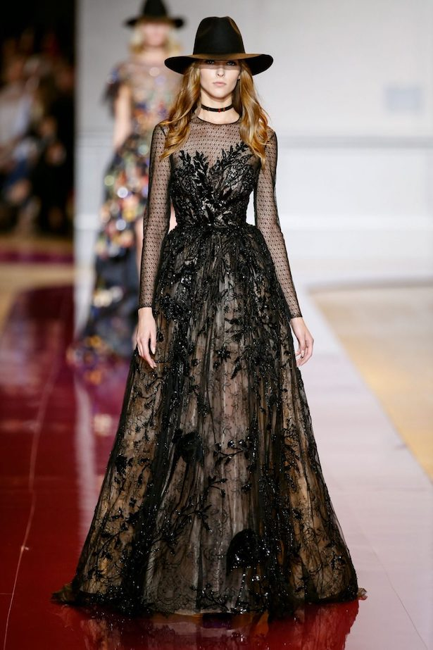 Black Wedding Dress by Zuhair Murad 1