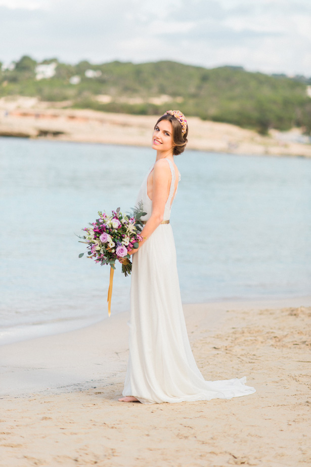 Boho Beach Bride - Heike Moellers Photography