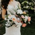 Boho Tropical Wedding Bouquet - Amy Lynn Photography