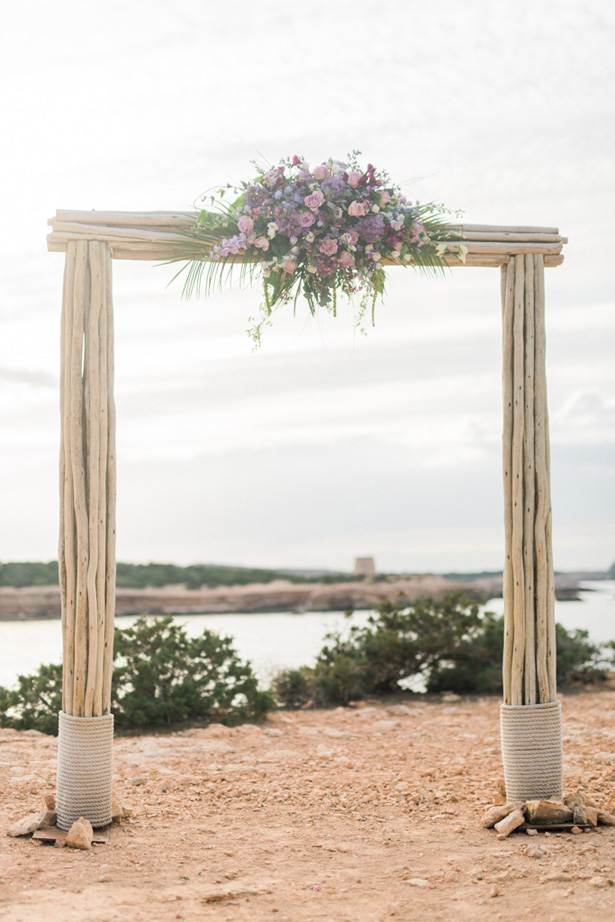 Boho Wedding Arch - Heike Moellers Photography