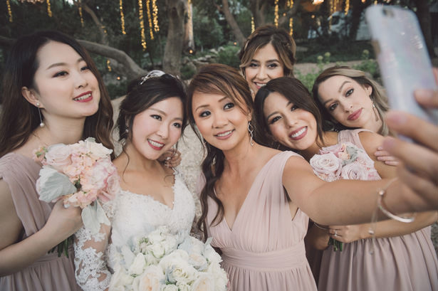 Bridal Party Candid photo - Yunis Chen Photography