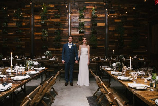 This Brooklyn Winery Wedding is the Definition of Rustic Chic