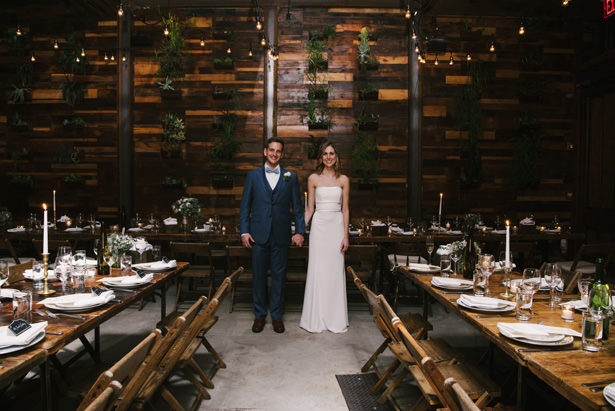 Brooklyn Winery Wedding Reception Details - Williamsburg Photo Studios