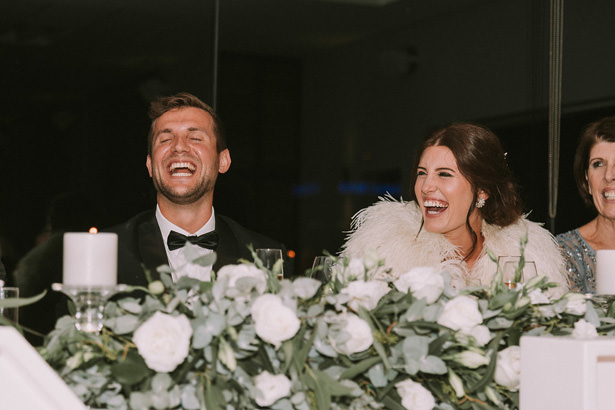 Candid Wedding Reception Photo - Bianca Asher Photography