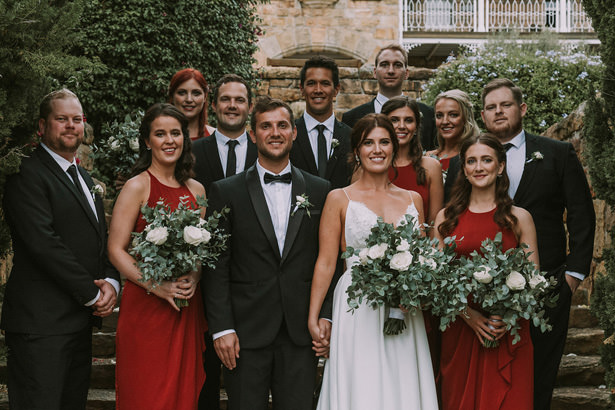 Classic Bridal Party - Bianca Asher Photography