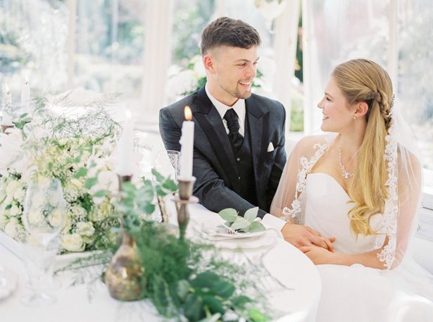 Swiss Garden Wedding Inspiration with Vintage Elegance Vibes