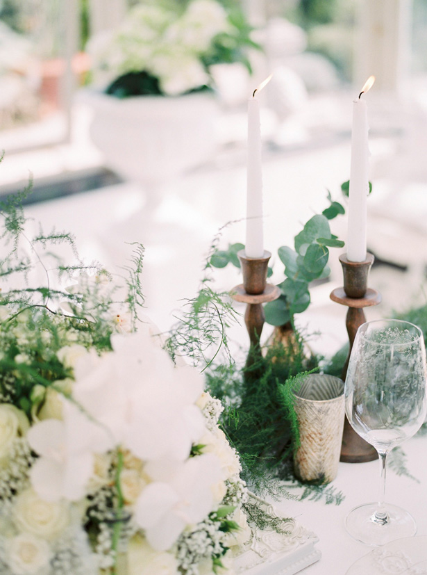 Classic Wood wedding decor candles - Sergio Sorrentino Fotografie