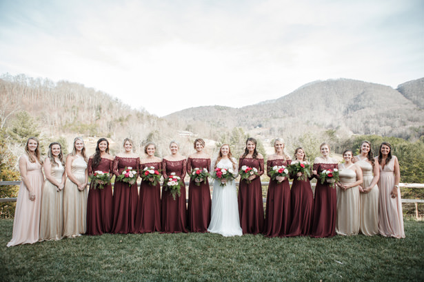 Elegant Bridal Party - Kathy Beaver Photography