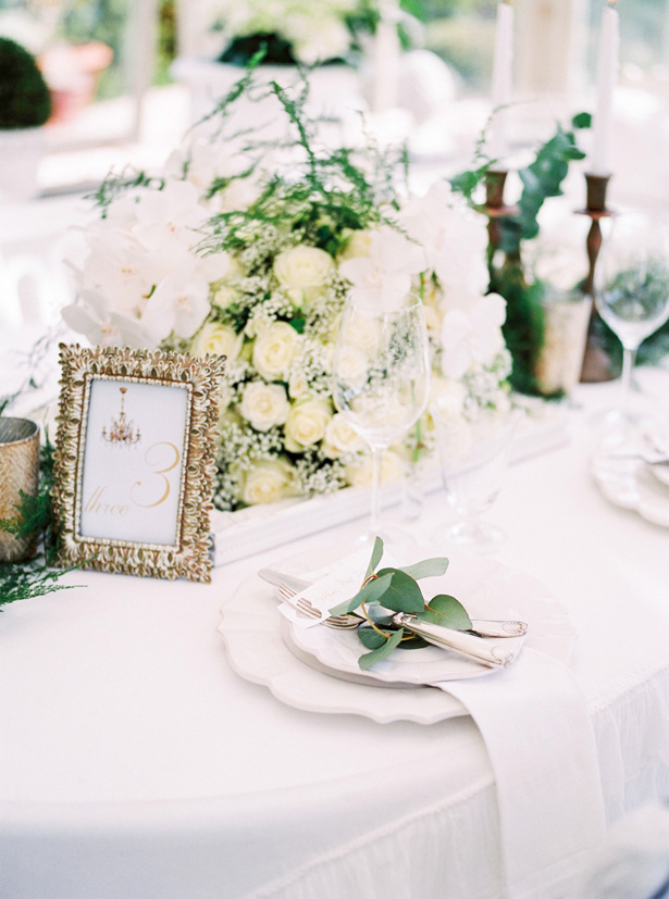 nt Wedding Table number - Sergio Sorrentino Fotografie