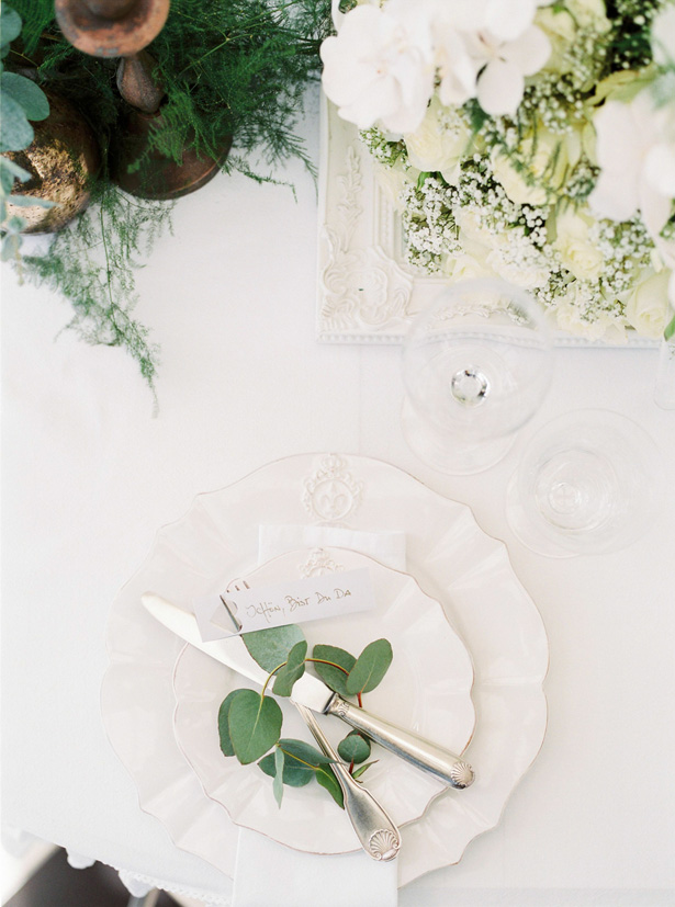 Elegant Wedding White Place Setting - Sergio Sorrentino Fotografie