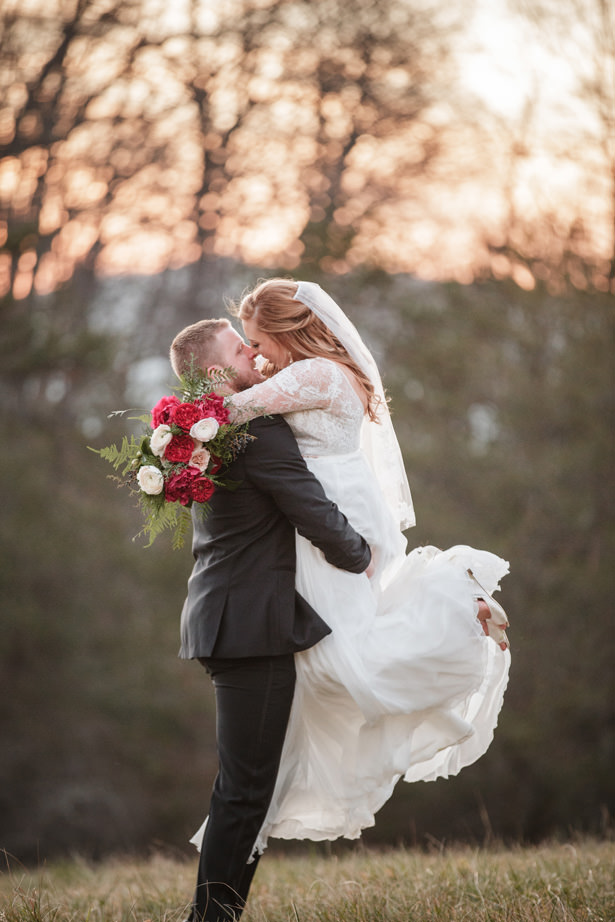 Elegant Winter Wedding Photo - Kathy Beaver Photography