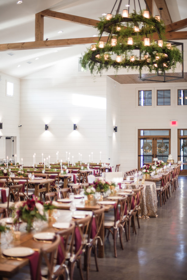 Elegant Winter Wedding Reception - Kathy Beaver Photography