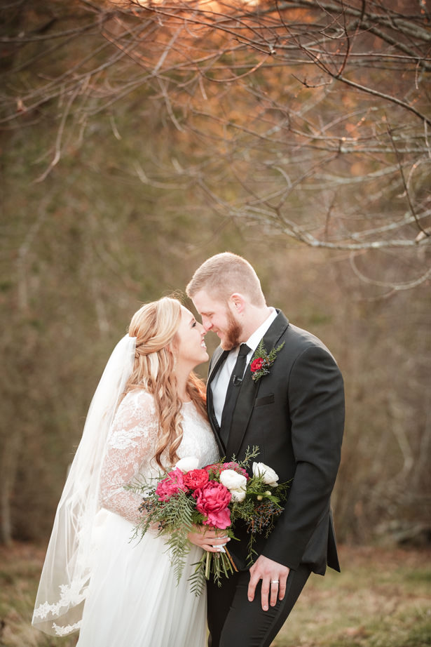 Elegant Winter Wedding - Kathy Beaver Photography
