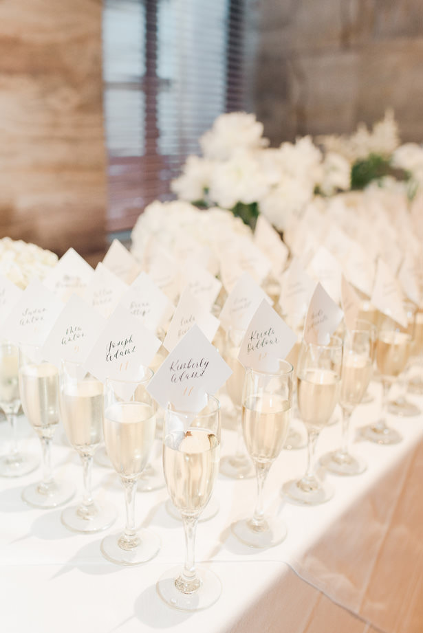 Elegant wedding escort card ideas - 1985 Luke Photography